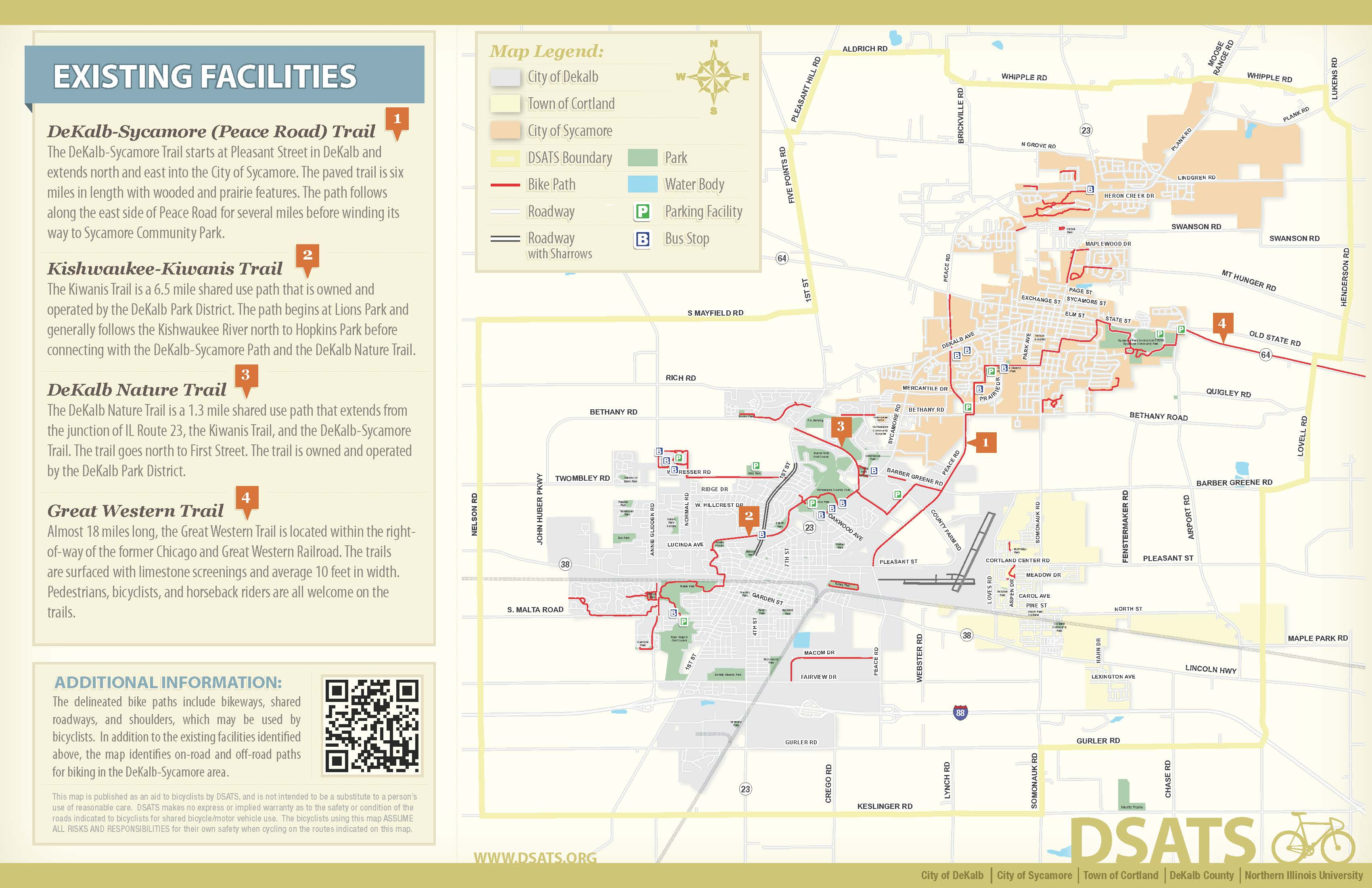 2011 DeKalb Region Trail Map - Page 2