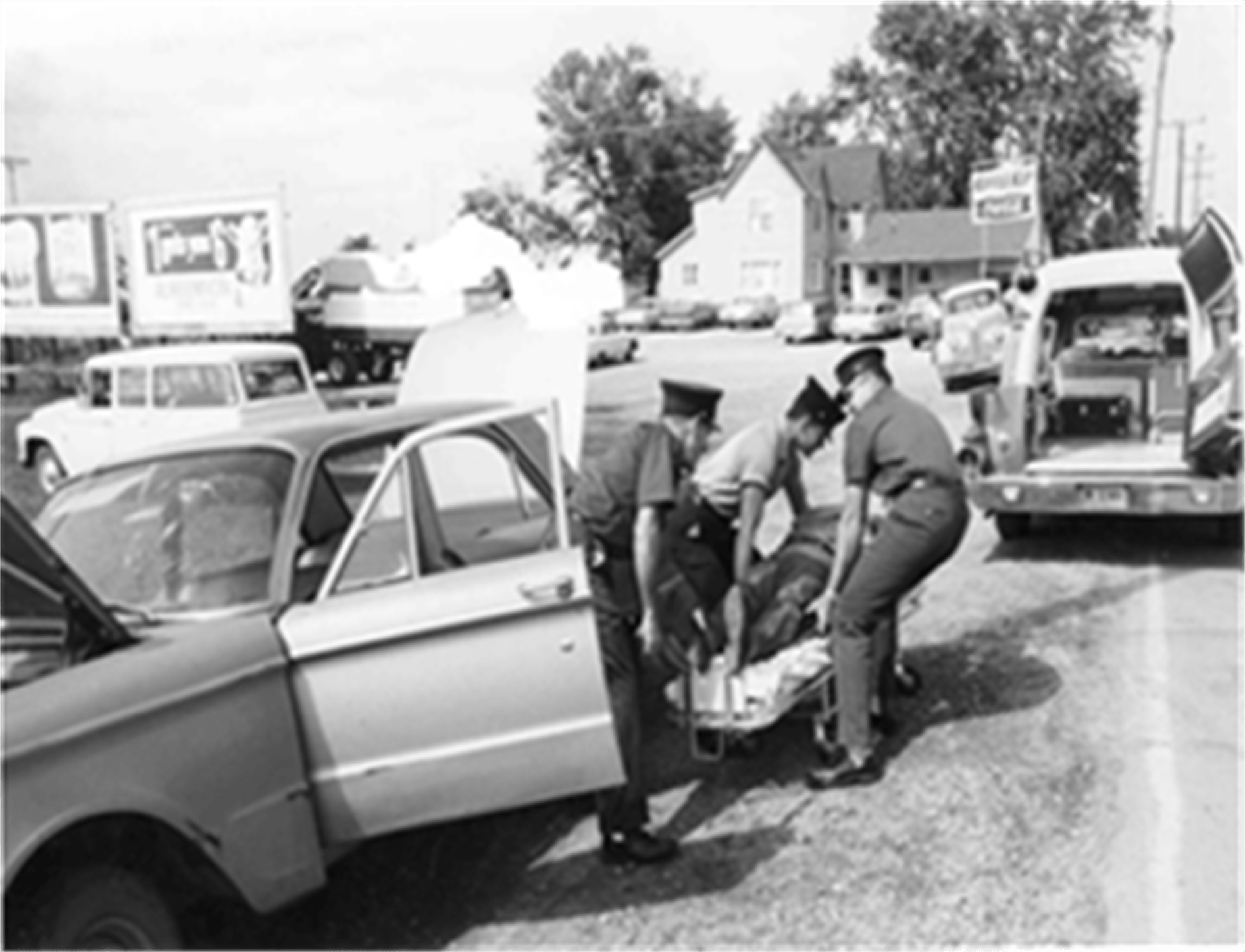 Ambulance call in the 60s