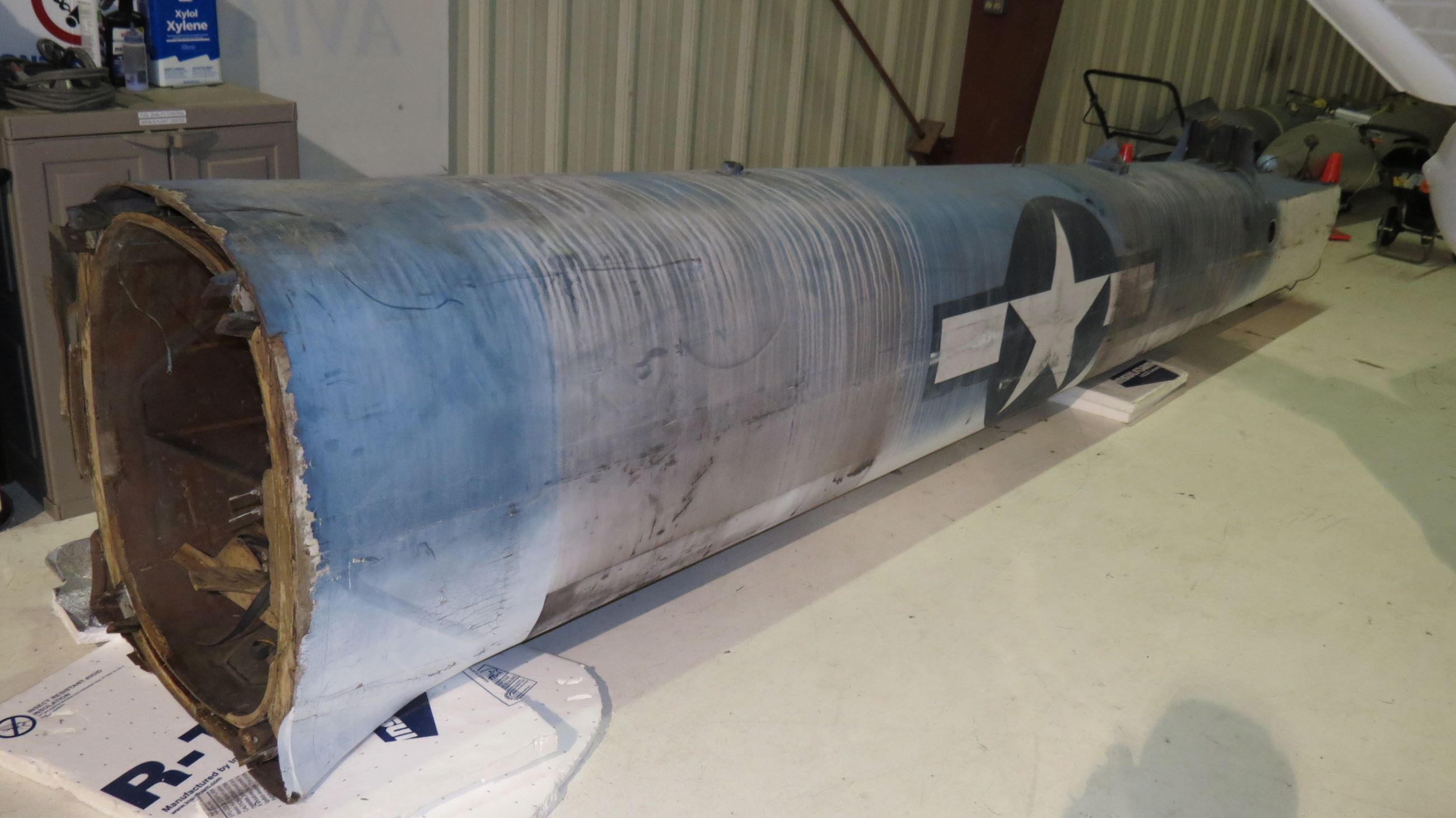 TDR-1 Drone fuselage photo