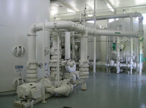 Inside a Water Treatment Plant